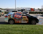 jersey mike's subs car wrap