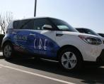 CBE Office Solutions fleet wraps