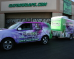 shampooch pet styles vehicle wrap