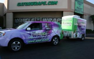 shampooch pet styles vehicle wrap