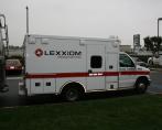 Lexxiom medical services fleet car wrap