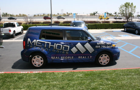 method technologies car wrap