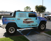 sun country hummer wrap