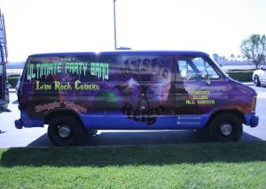 mystic reign van wrap party wrap