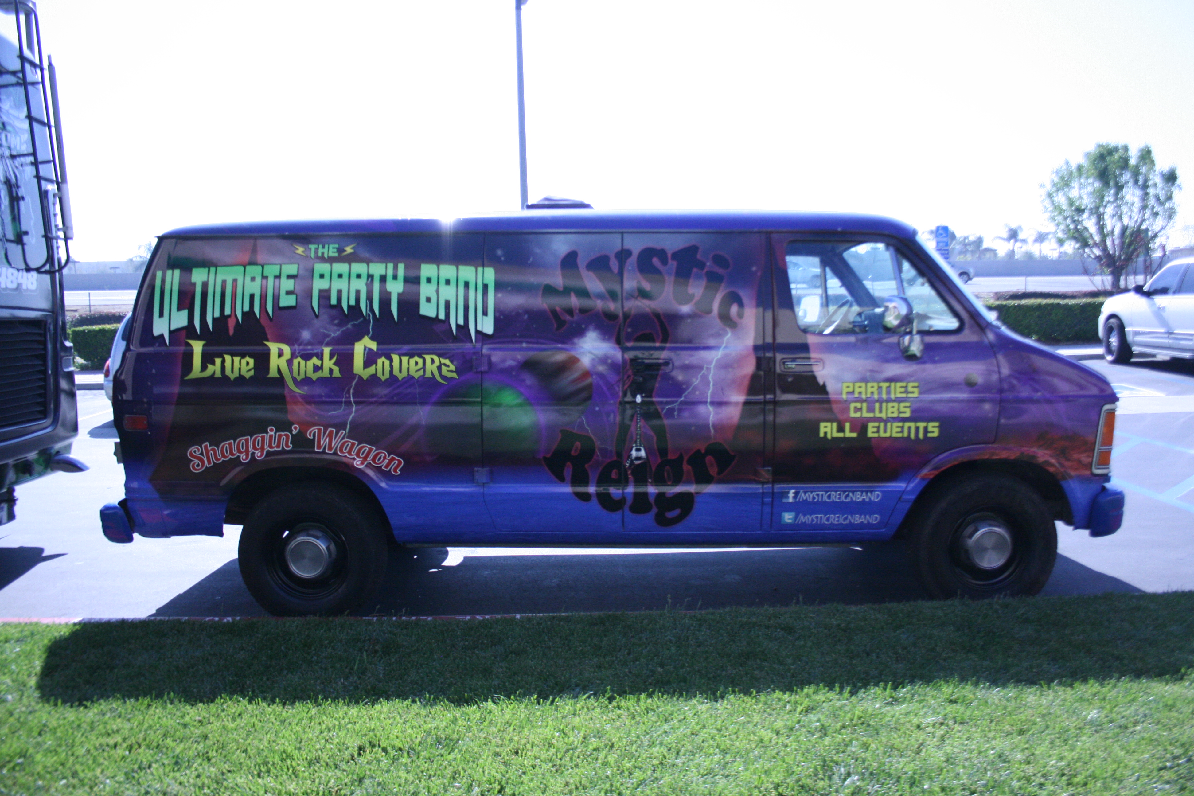 mystic reign van wrap party wrap