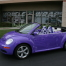purple car wrap