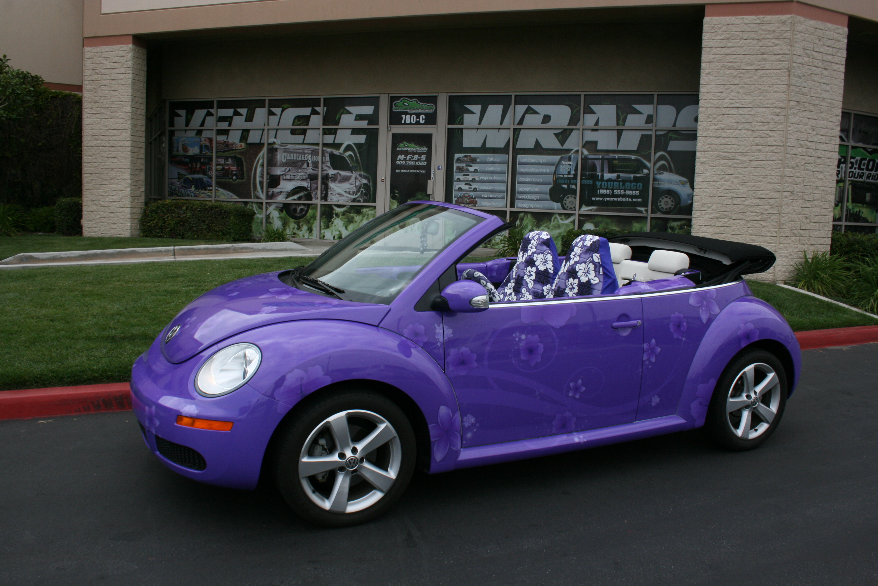 Purple Car Wrap Car Wraps 800wrapmycar