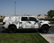 Pixel Truck Wrap
