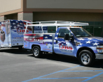 JBS Heating & Air Truck & Trailer Wrap 2