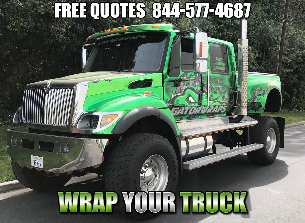 Truck Wraps Orange Cove CA