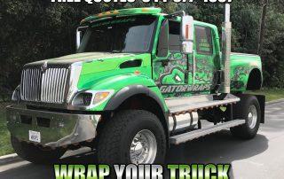 Truck Wraps Redlands CA